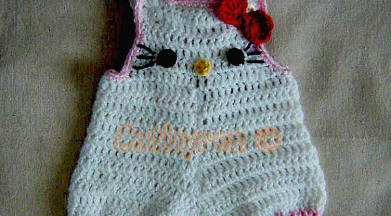 Baby Girl Kitty Shortall, Dungaree, Overall, Romper ...