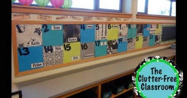 clutter-free classroom ideas