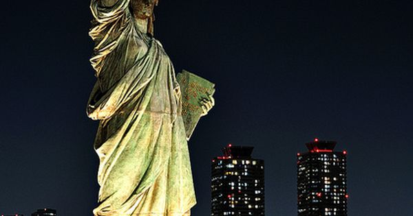 Lady Liberty and The Twin Towers ..