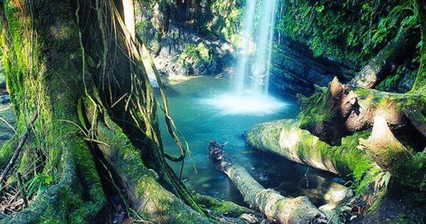 Waterfall, Rio Grande, Puerto Rico travel puertorico