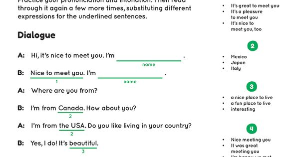 How To Introduce Yourself With Audio And Worksheet Esl The Gallery