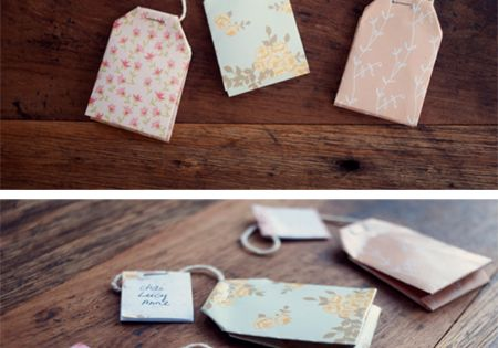 for the tea party Tea Bag Gift Tag Printable and DIY tutorial
