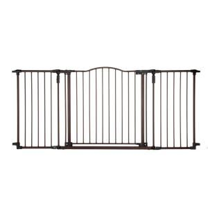 Deluxe Decor Gate 4934 Extra Wide Baby Gate Baby Gates Wide Baby Gate