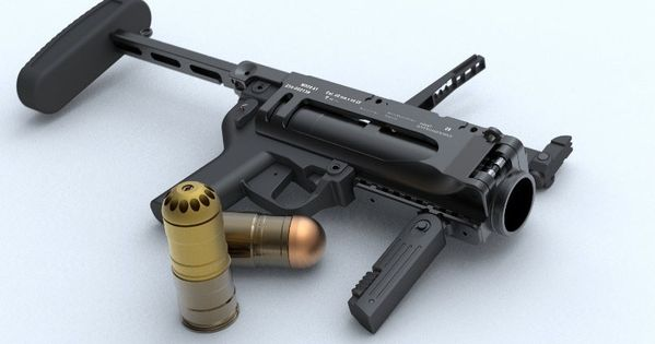 M320 grenade launcher. Got to use these in Afghanistan ...