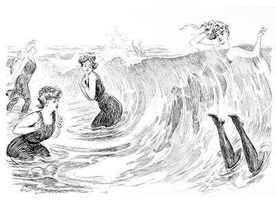 Old Book Illustrations Vintage Images Charles Dana Gibson Gibson Girl Art