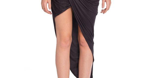 #2020AVE Skirt Draped Microsuede Skirt 2020AVE Draped Microsuede Skirt - 2020AVE http://www.seapai.com/product.aspx?PID=784078