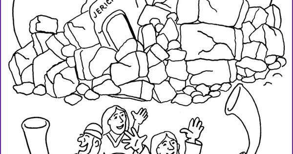 jericho wall coloring pages - photo#17