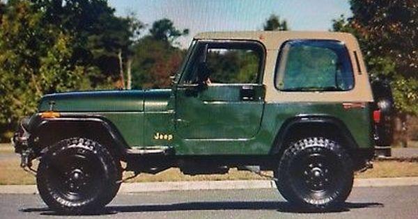 Ebay 1995 Jeep Wrangler Rio Grande 1995 Jeep Wrangler Jeep Jeeplife Jeep Wrangler 1995 Jeep Wrangler Jeep