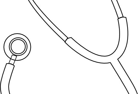 stethoscope coloring page images  u0026 pictures