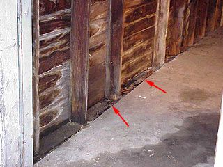 Replacing Rotted Sill Or Bottom Plate In A Garage Wall Remodel Bedroom Garage Walls Small Bedroom Remodel
