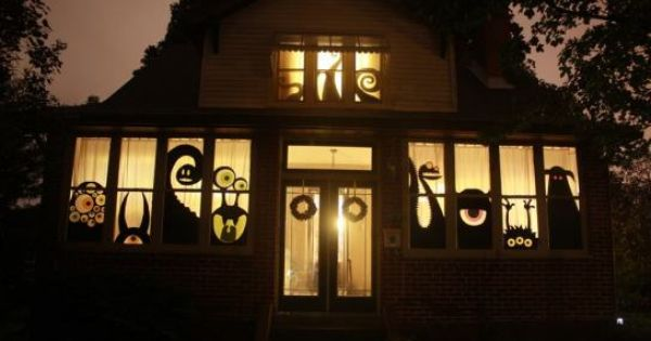 HALLOWEEN DECORATIONS : IDEAS & INSPIRATIONS: Halloween House Decorations