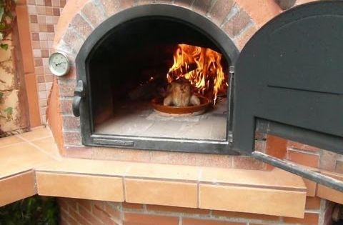 Como encender un horno de le a chimeneas hornos de - Chimenea horno de lena ...