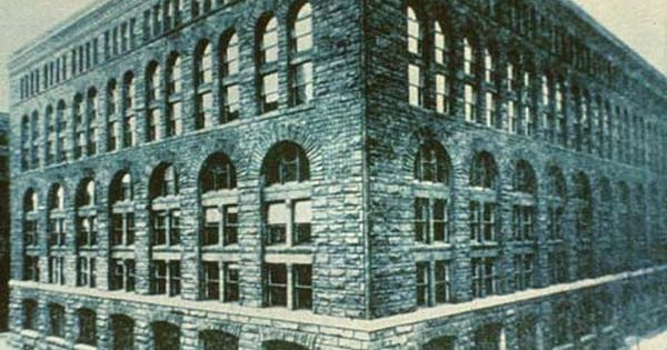 H H Richardson Marshall Field Wholesale Store Chicago 1885