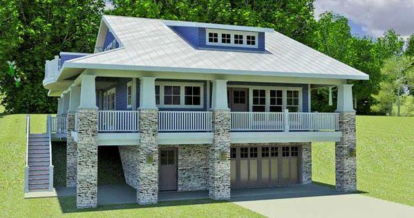 Hillside vacation home the red cottage floor plans home for Hillside lake house plans