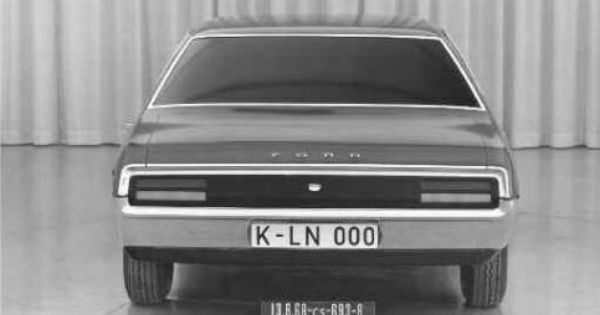 Og 1972 Ford Granada Mock Up Oldtimer Tiguan Design