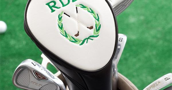 gift idea, personalized golf club cover!