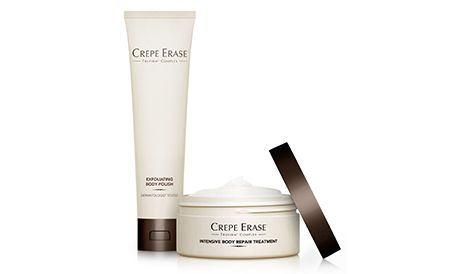 Crepe Erase Introductory System For Dry Aging Crepey Skin Crepey Skin Crepey Skin Treatment Best Body Cream