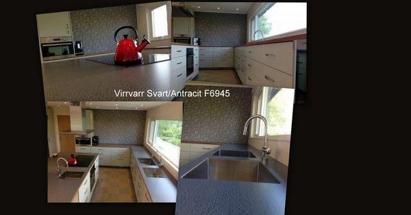 Virrvarr Svart F6945 Bänkskivor Laminat Pinterest - vito küchen nobilia