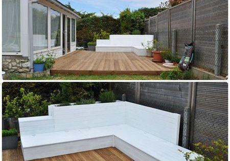 Salon de jardin jardin et terrasse pinterest salon jardins et deco avec palette - Terrasse jardin en palette bordeaux ...