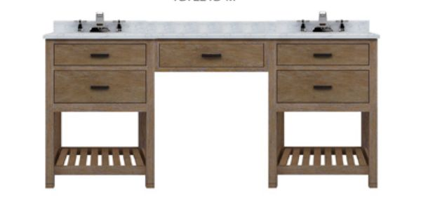 Sagehill Designs Toby 72 Modular Double Bathroom Vanity With Drawers An