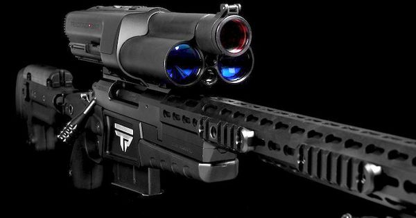 This $22000.00 sniper rifle comes with a WiFi server, USB ports, an