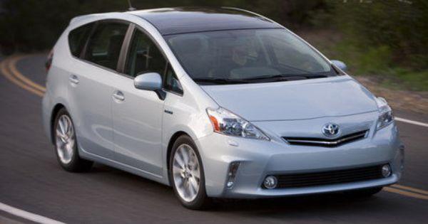 2012 Toyota Prius V Toyota Prius Most Fuel Efficient Cars Fuel