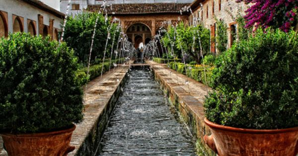 La Alhambra, Granada, Spain Guðrún Elín  indian palace  Pinterest