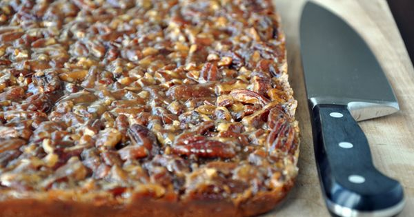 In my opinion, these Pecan Cake Bars are better than Pecan Pie.