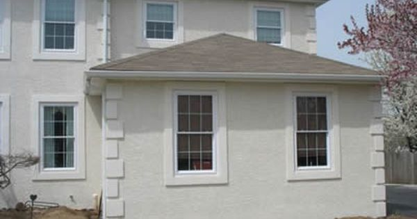 Exterior Stucco Trim stucco, curb appeal, exterior window trim - foamtrim's wall