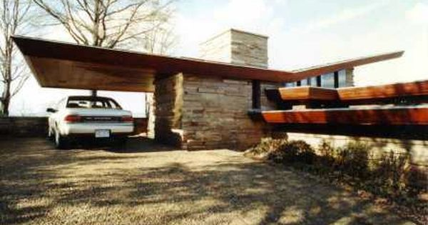 Flw Shavin House 1952 Usonian Chattanooga Tennessee