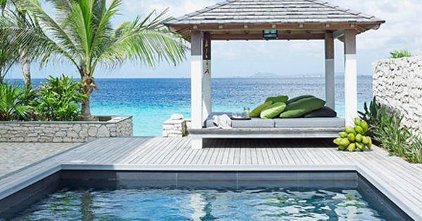 Caribbean Beach Villa Piet Boon Outdoor Pinterest