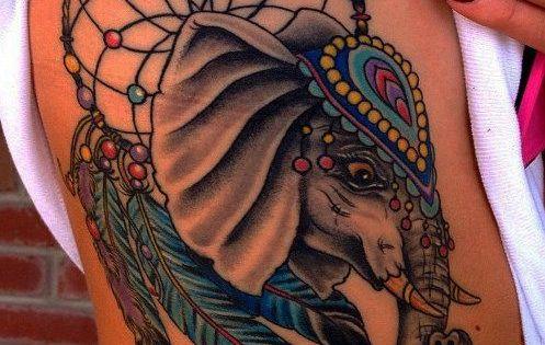 51 Cute and Impressive Elephant Tattoo Ideas - Sortra