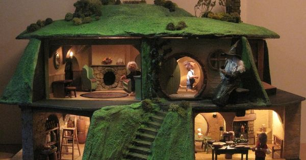 Home kastle kelm miniatures miniaturas maquete for Hobbit house furniture
