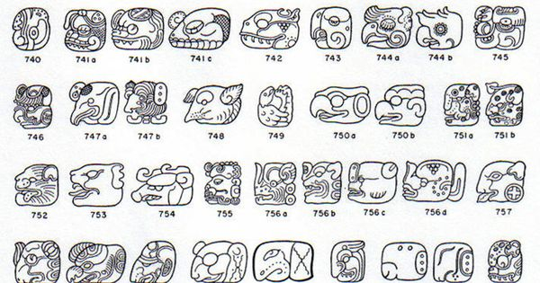 pin mayan hieroglyphics alphabet for kids letters on pinterest