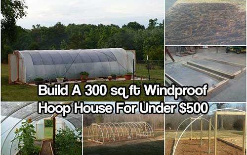 Windproof Hoop House See How To Build A Wind Proof Hoop