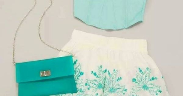mint Polyvore Clothes Outift for • teens • movies • girls •