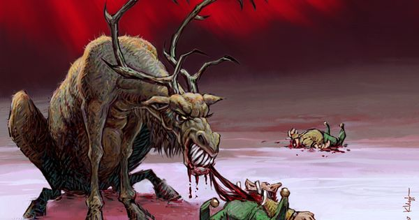 Randolph the Undead Reindeer | Noël maléfique [ Evil ...
