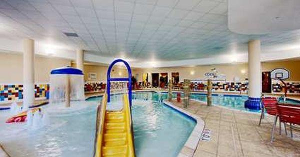 Mini Indoor Water Park At The Hampton Inn Suites Bricktown In Oklahoma City Indoor Waterpark Oklahoma City Hotels Bricktown Oklahoma City