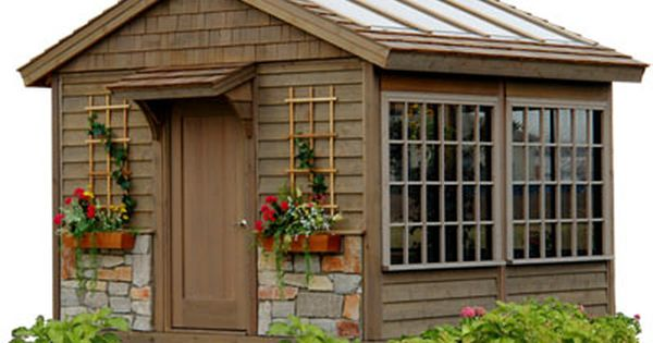Sunroom Potting Shed Hot Tub Enclosure Pool House Or Outdoor Studio Greenhouse Shed Shed Backyard Shed