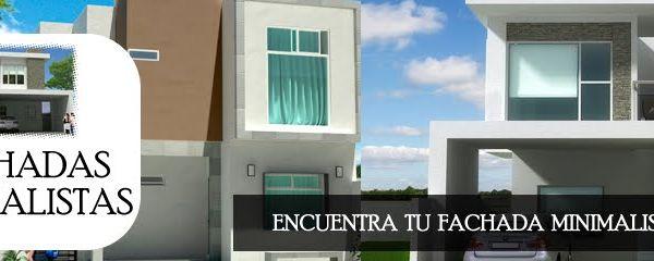 Encuentra tu fachada minimalista ideal fachadas de - Encuentra tu casa ...