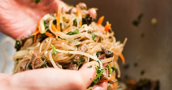 Cellophane noodles, Noodles and Beef on Pinterest