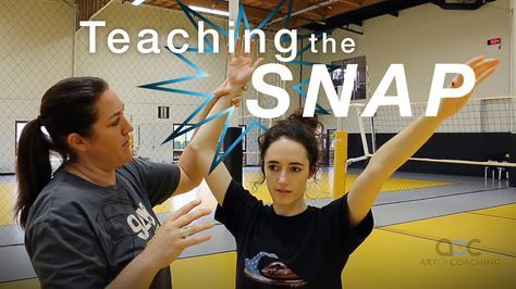 Teaching The Spiker S Wrist Snap And Follow Through Volleyball Workouts Volleyball Training Volleyball Skills