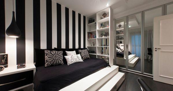 Black And White Bedroom Interior Design Ideas Black White Bedrooms Wall Decor And Bedroom Ideas