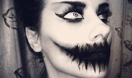 Fair warning: If you get spooked easily, this may not be for you. | See more about Halloween Makeup, Halloween Eye Makeup and Halloween Eyes.