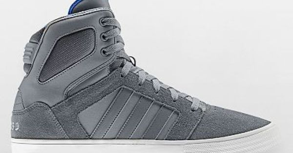 Blue Adidas High Tops For Girls