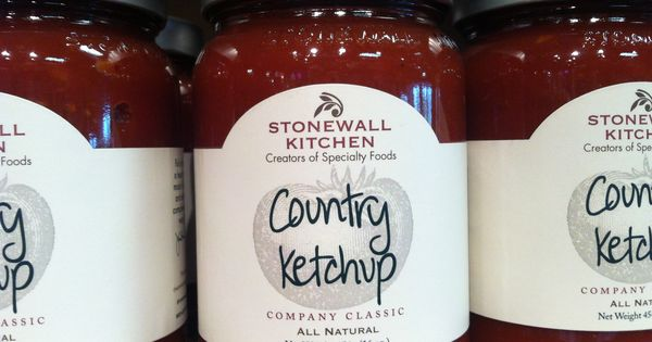 Stonewall kitchen, All grown up and Ketchup on Pinterest