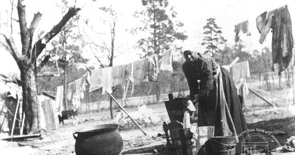 washing clothes from the robert e williams