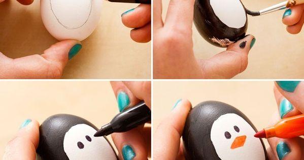 eier gesichter malen ostereier gestalten eier mit gesichter malen osterdeko selber machen. Black Bedroom Furniture Sets. Home Design Ideas