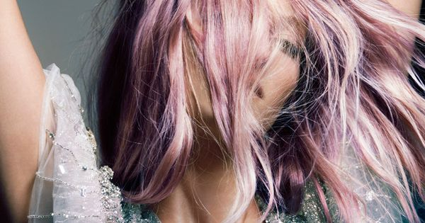 {style inspiration | two lovely things : pink hair & sequins} by