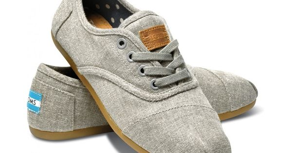 Grey Hemp Women's Cordones hero toms christmaslist